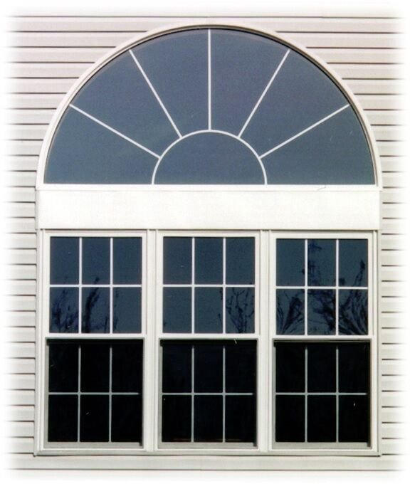 Combination bristol windows nebraska for Mulled window unit